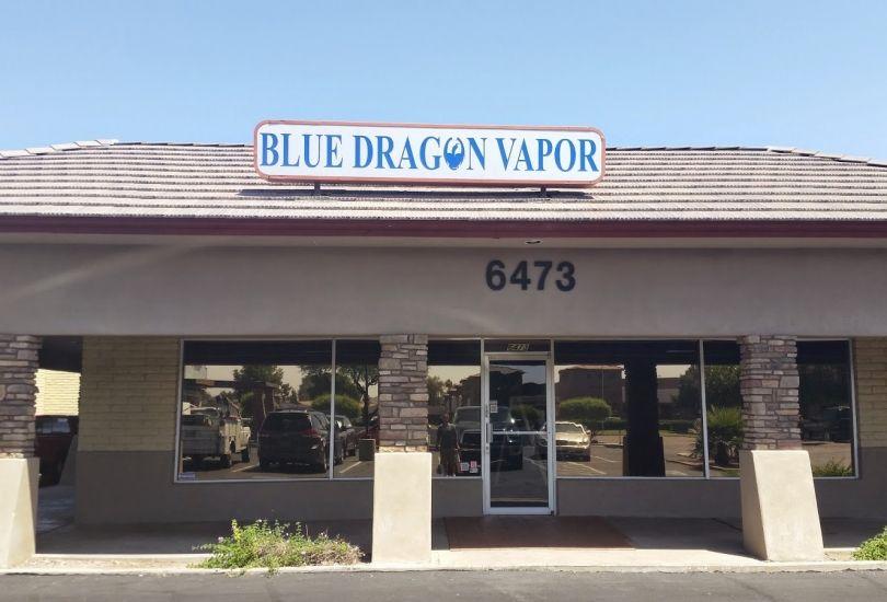 Blue Dragon Vapor