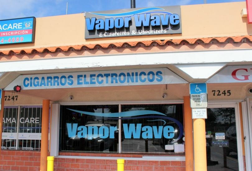 Vapor Wave Smoke Shop
