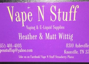 Vape N Stuff - Strawberry Plains