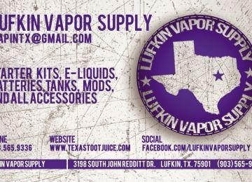 Lufkin Vapor Supply