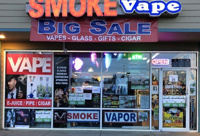 SMOKE & VAPE - 10613 SE 240th St Kent, WA