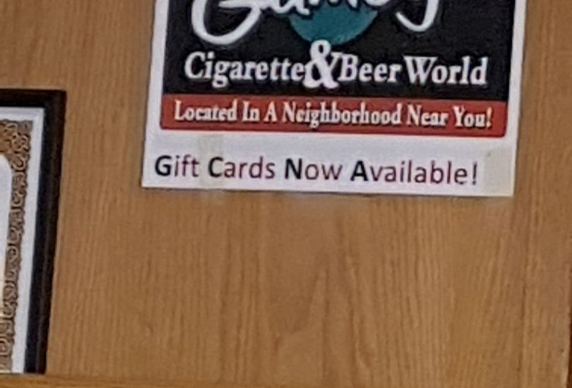 Gumby's Cigarette & Beer World