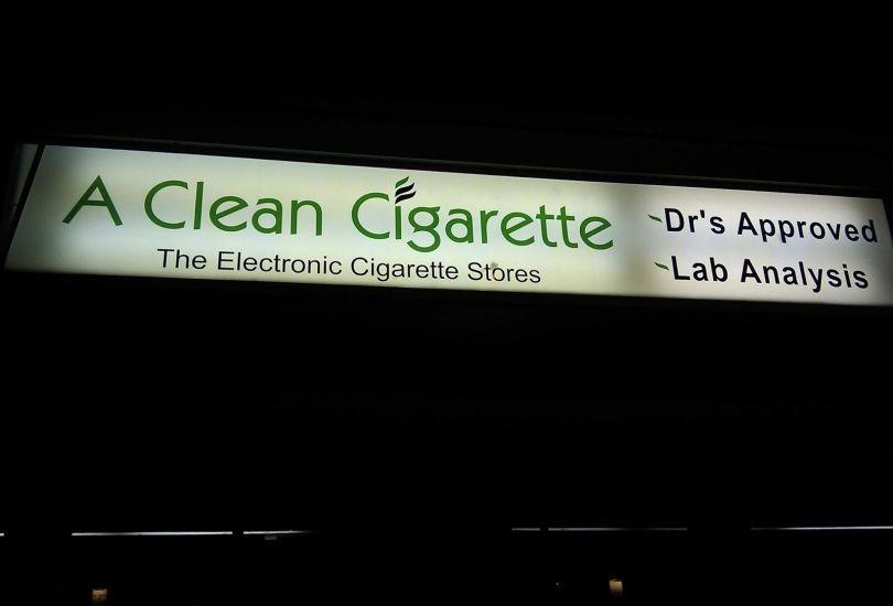 A Clean Cigarette