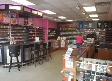 VAPORS Electronic Cigarettes and E-Liquids