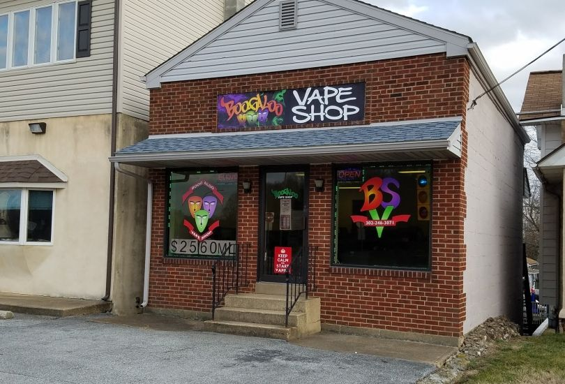 BOOGALOO VAPE SHOP ( CLAYMONT CHAPTER )