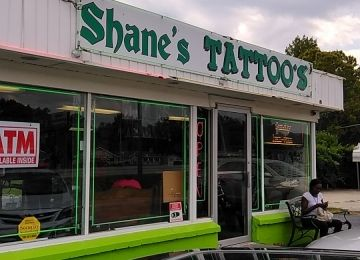 Shane's Custom Tattoos and Piercings