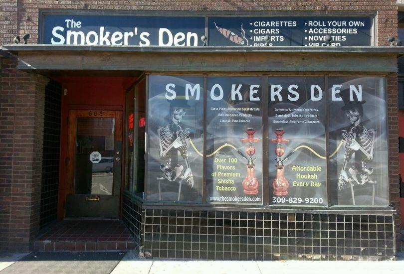 The Smoker's Den - 606 N Main St Bloomington, IL