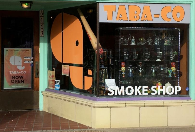 Taba Smoke Shop + Vape + Kratom + CBD + Novelty - 6163 Delmar Blvd