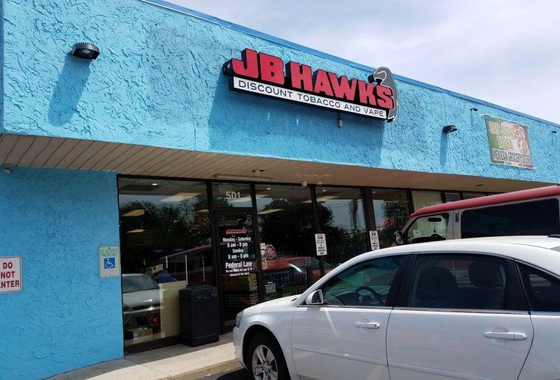 JB Hawks Discount Tobacco and Vape - 501 N Vermilion St d