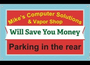 Mike's Computer Solutions & Vapor Shop
