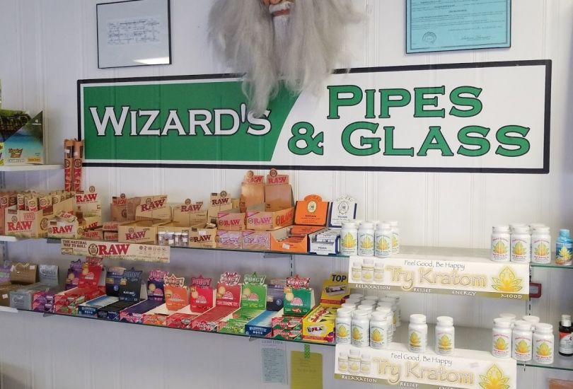 Wizards Pipes and Glass