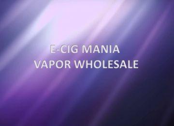 Vapor Wholesale St. Louis - E-Cig Mania