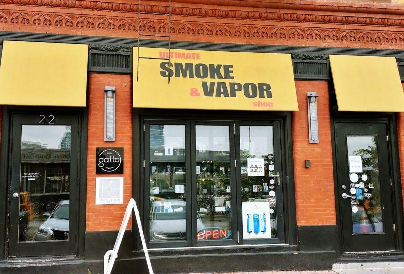 Ultimate smoke and vapor